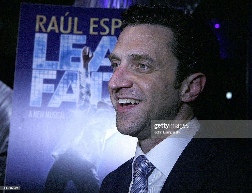 Raul Esparza attends the 'Leap Of Faith' Broadway Opening Night After Party at Copacabana on April 26 2012 in New York City
