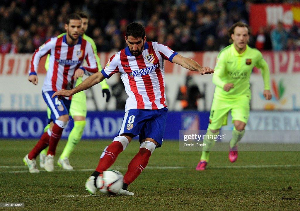 Club Atletico de Madrid v Barcelona - Copa del Rey Quarter-Final: Second Leg