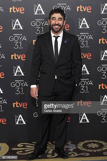 Raul Jimenez attends the Goya cinema awards candidates 2016 cocktail at the Ritz Hotel on January 12 2017 in Madrid Spain