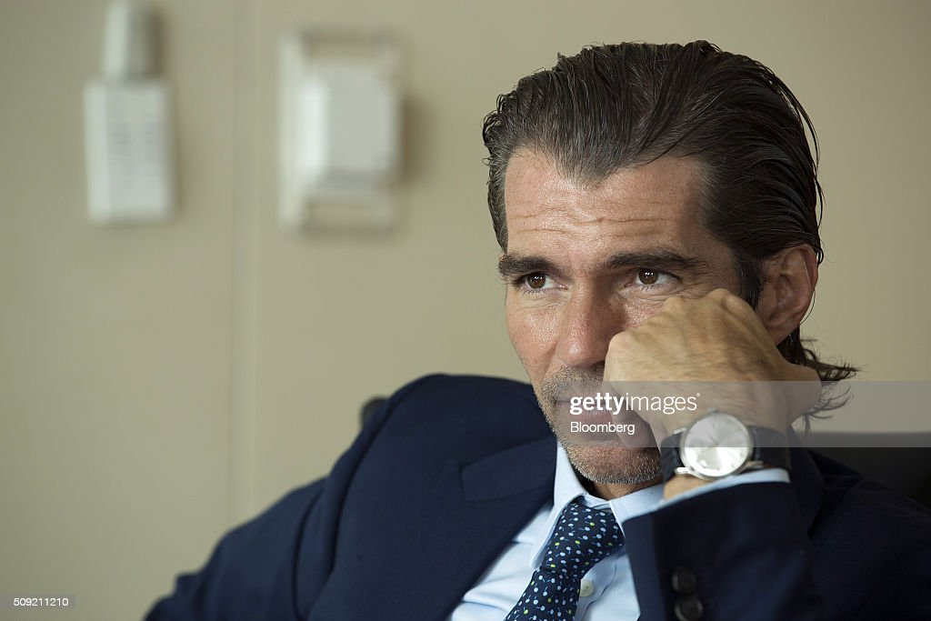 Raul Martinez-Ostos, head of Mexican operations for Barclays Plc, listens during an interview in Mexico City, Mexico, on Tuesday, Feb. 9, 2016. Martinez-Ostos previously worked for Deutsche Bank AG where he headed capital markets and Treasury solutions for Mexico, Central America and the Caribbean. Photographer: Susana Gonzalez/Bloomberg via Getty Images