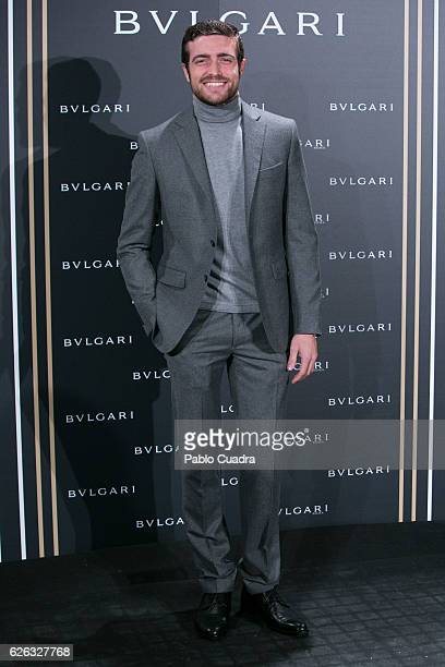Raul Merida attends the opening of the exhibition 'Bulgari and Roma' at Italian Embassy on November 28 2016 in Madrid Spain