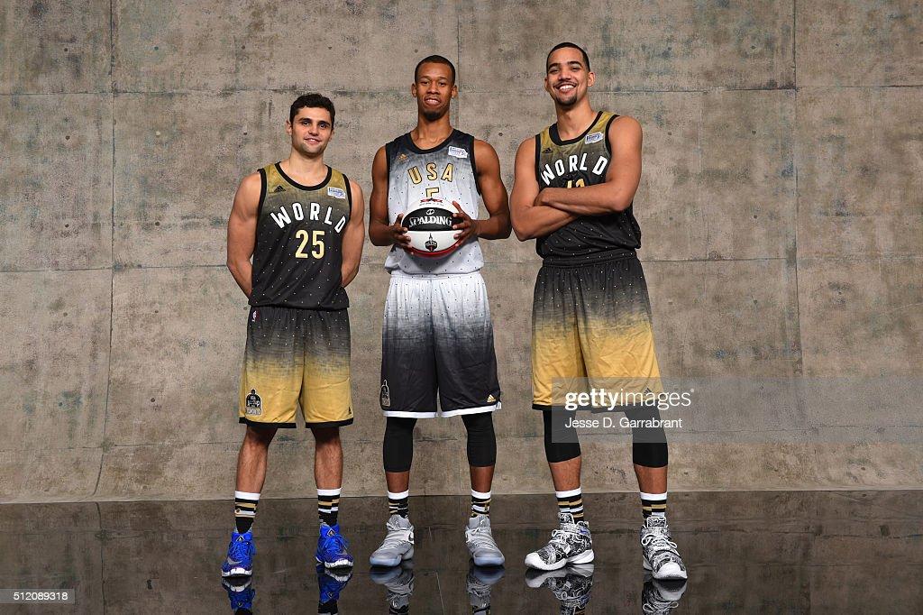NBA All-Star Portraits 2016
