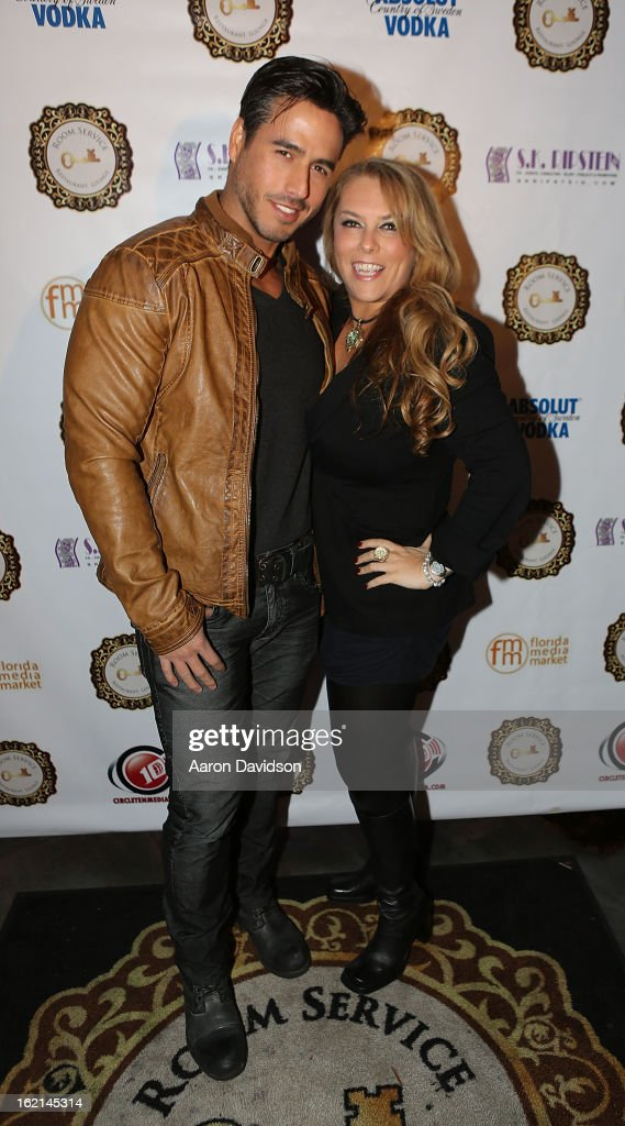 Raul Olivo and Stephanie Kon Ripstein attend The Florida Media Market 2013 event hosted by Adriana Fonseca on January 31, 2013 in Miami Beach, Florida.