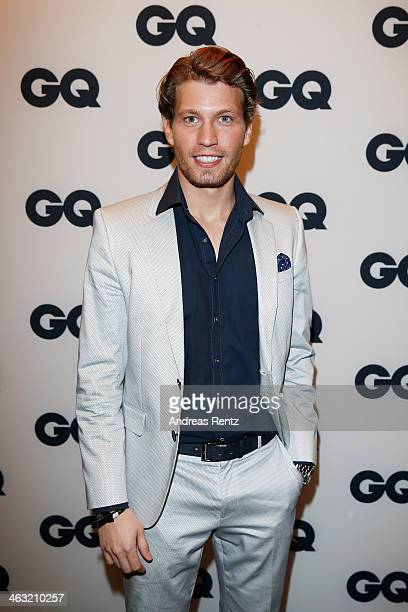 Raul Richter attends the GQ Fashion Cocktail at The Grand on January 16 2014 in Berlin Germany