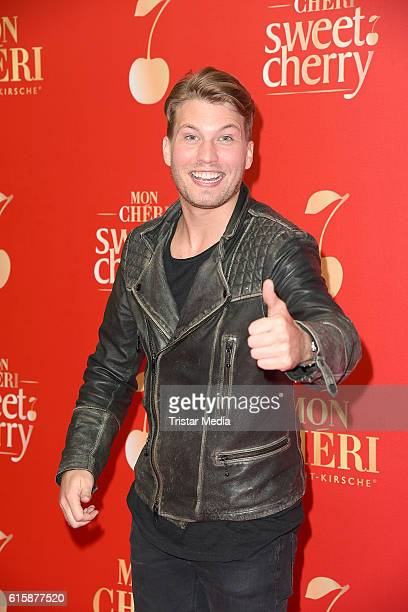 Raul Richter attends the Mon Cheri Sweet Cherry Night on October 20 2016 in Berlin Germany