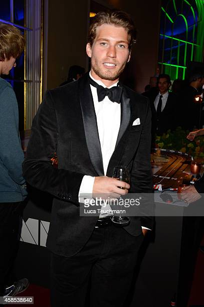 Raul Richter is seen at the after show party of the GQ Men Of The Year Award 2014 after show party at Komische Oper on November 6 2014 in Berlin...