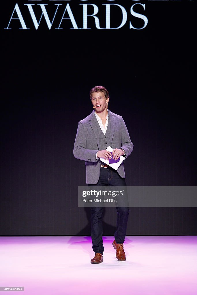 <a gi-track='captionPersonalityLinkClicked' href=/galleries/search?phrase=Raul+Richter&family=editorial&specificpeople=5580353 ng-click='$event.stopPropagation()'>Raul Richter</a> speaks during the Stylight Fashion Blogger Awards at Brandenburg Gate on January 13, 2014 in Berlin, Germany.