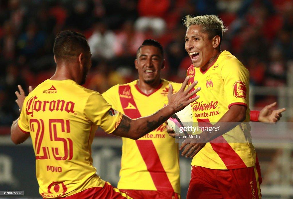 Necaxa v Morelia - Torneo Apertura 2017 Liga MX