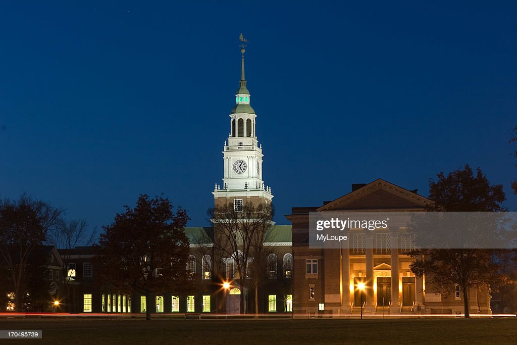 Rauner Library Overlooking The Town Green At Dartmouth College Hanover New Hampshire