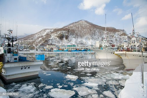 Rausu Fishing Port -  Hokkaido, Japan