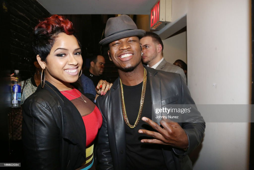 RaVaughn Brown and <a gi-track='captionPersonalityLinkClicked' href=/galleries/search?phrase=Ne-Yo&family=editorial&specificpeople=451543 ng-click='$event.stopPropagation()'>Ne-Yo</a> attend the 2nd Annual DJ Prostyle's Birthday Bash at Hammerstein Ballroom on April 16, 2013 in New York City.