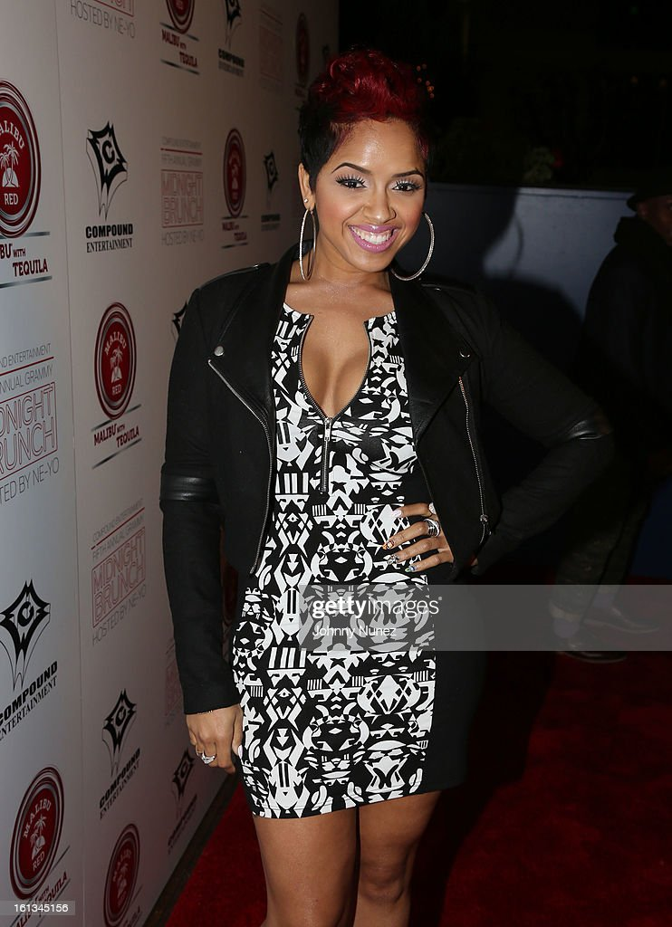 RaVaughn Brown attends Compound Entertainment And Malibu Red GRAMMY Midnight Brunch 2013 at Bagatelle/STK on February 9, 2013 in West Hollywood, California.