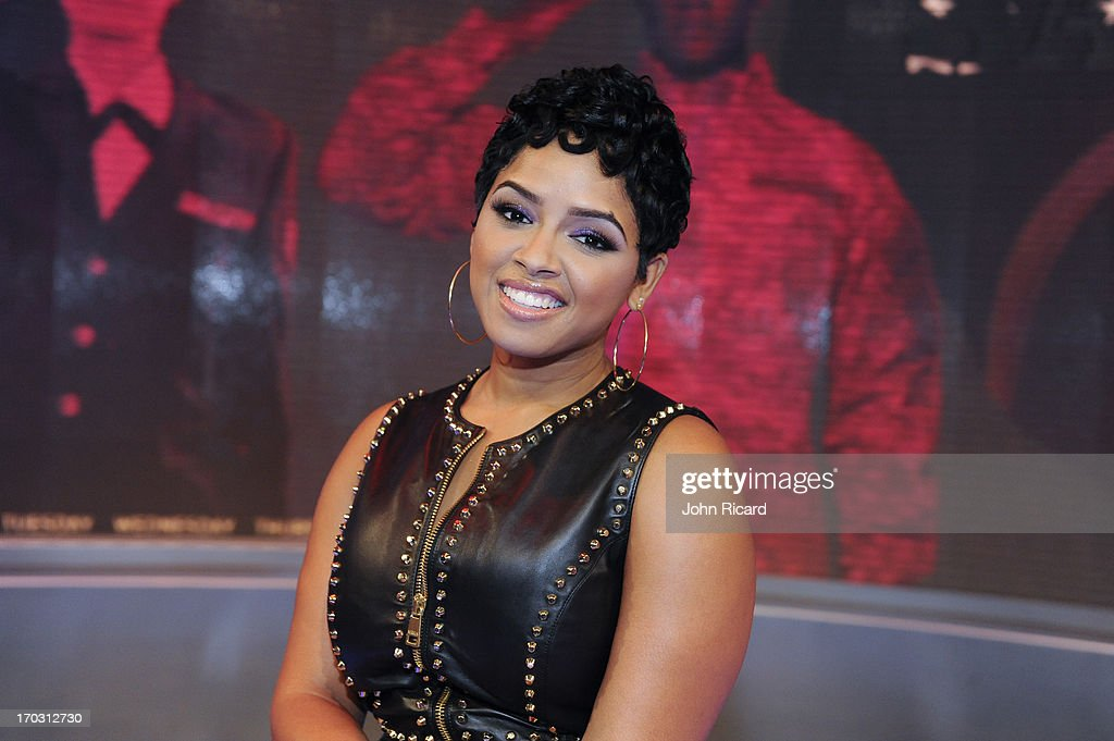 RaVaughn visits BET's '106 & Park' at BET Studios on June 10, 2013 in New York City.