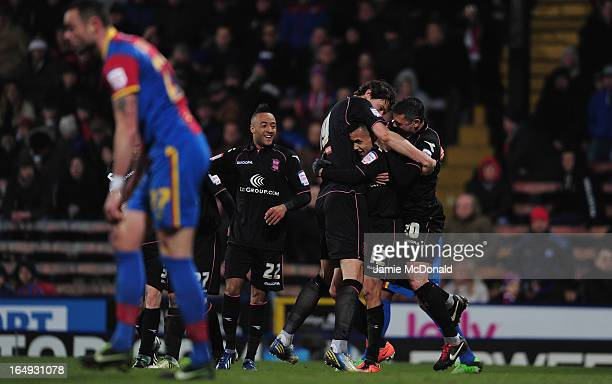 Ravel Morrison of Birmingham City celebraues his goal during the npower Championship match between Crystal Palace and Birmingham City at Selhurst...