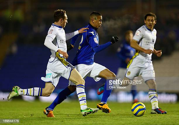 Ravel Morrison of Birmingham City on the attack during the FA Cup with Budweiser Third Round Replay match between Birmingham City and Leeds United at...