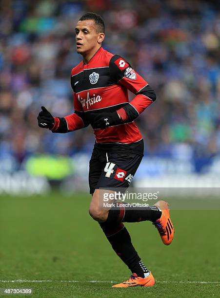 Ravel Morrison of QPR in action during the Sky Bet Championship match between Leicester City and Queens Park Rangers at the King Power Stadium on...
