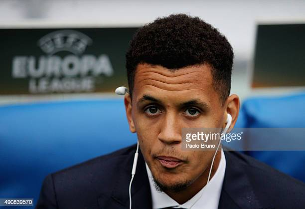 Ravel Morrison of SS Lazio looks on before the UEFA Europa League group G match between SS Lazio and AS SaintEtienne at Olimpico Stadium on October 1...
