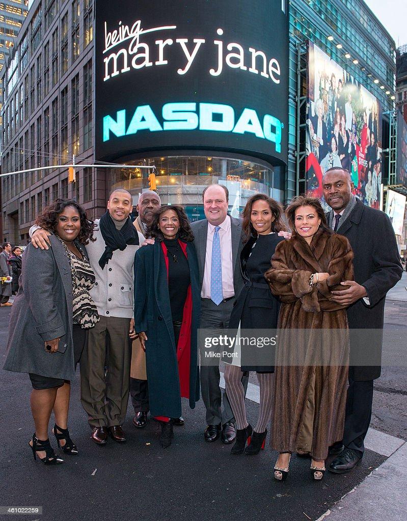 """Being Mary Jane"" Cast Ring NASDAQ Closing Bell"