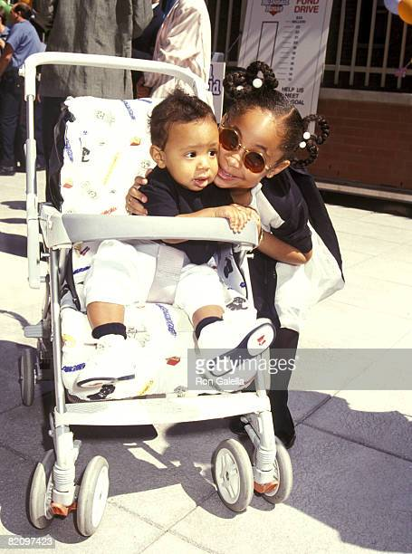 Raven Symone and Brother Blaize Pearman