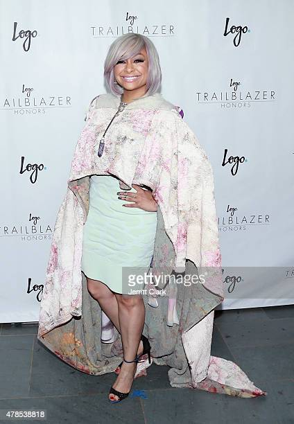 Raven Symone attends Logo TV's 'Trailblazers' at the Cathedral of St John the Divine on June 25 2015 in New York City