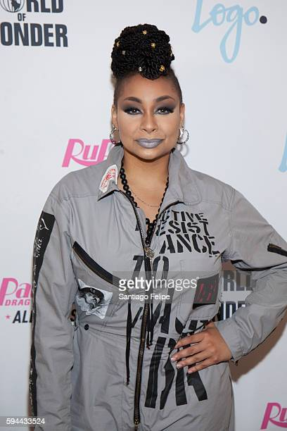 Raven Symone attends RuPaul's Drag Race All Stars season two premiere at Crosby Street Hotel on August 23 2016 in New York City