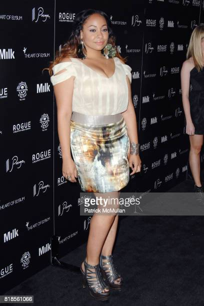 Raven Symone attends THE ART OF ELYSIUM SECOND ANNUAL GENESIS EVENT SPONSORED BY ROGUE PICTURES PAIGE DENIM COFFEE BEAN TEA LEAF AND MILK STUDIOS at...