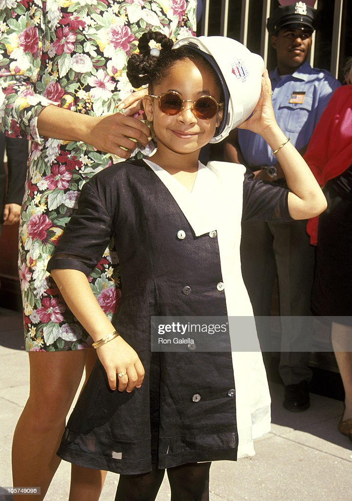 Raven Symone during Helping Hands Event at Ronald McDonald House - July 22, 1992 at Ronald McDonald House in New York City, New York, United States.