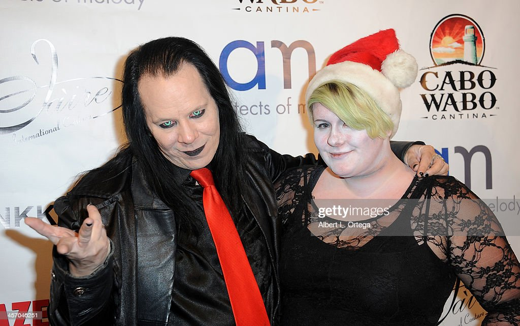 Raven Tremblay and Mella Aragon attend Britticares Toy Drive with a benefit concert by G Tom Mac & Many Of Odd Nature in conjunction with publicist Michael Arnoldi's Birthday held at Cabo Wabo Cantina on December 15, 2013 in Hollywood, California.