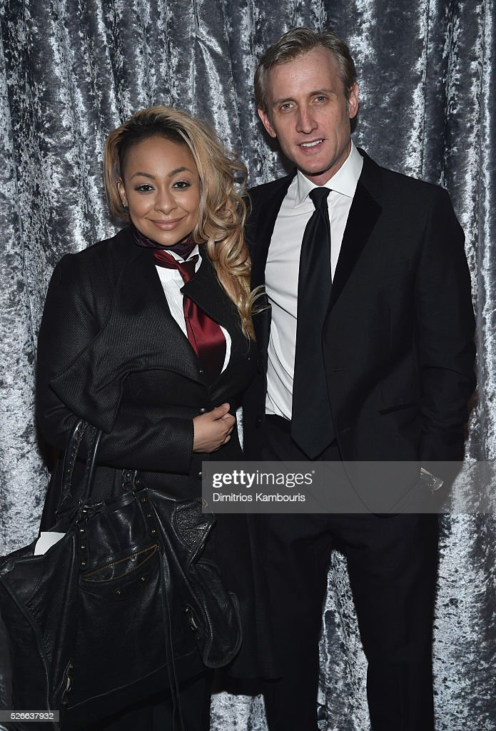 Raven-Symon�� (L) and Dan Abrams attend the Yahoo News/ABC News White House Correspondents' Dinner Pre-Party at Washington Hilton on April 30, 2016 in Washington, DC.