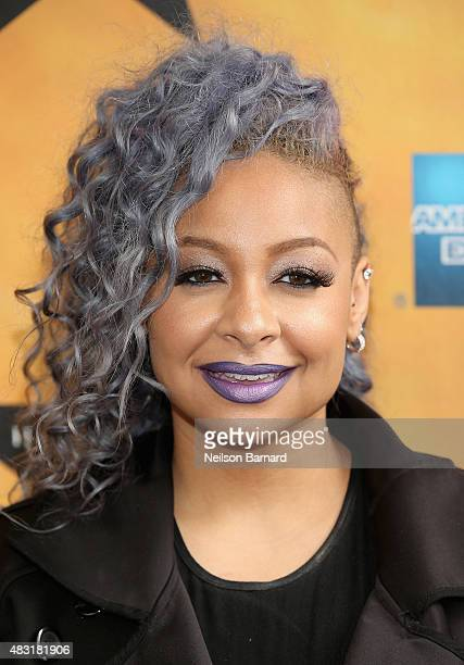 RavenSymone attends 'Hamilton' Broadway Opening Night at Richard Rodgers Theatre on August 6 2015 in New York City