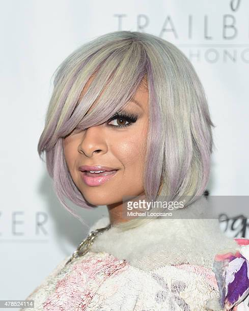 RavenSymone attends Logo's 'Trailblazer Honors' 2015 at the Cathedral of St John the Divine on June 25 2015 in New York City