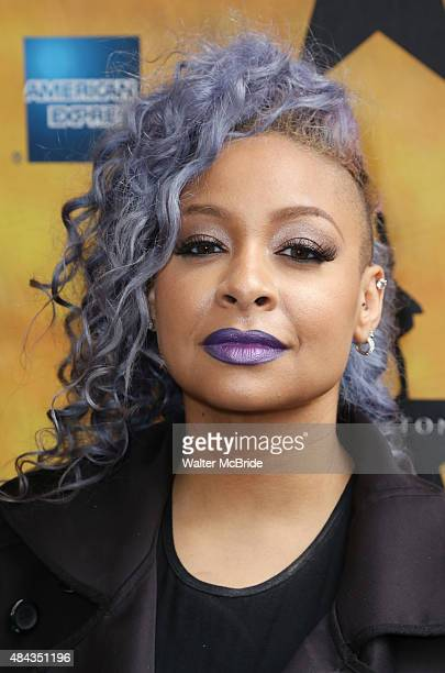 RavenSymone attends the Broadway Opening Night Performance of 'Hamilton at the Richard Rodgers Theatre on August 6 2015 in New York City