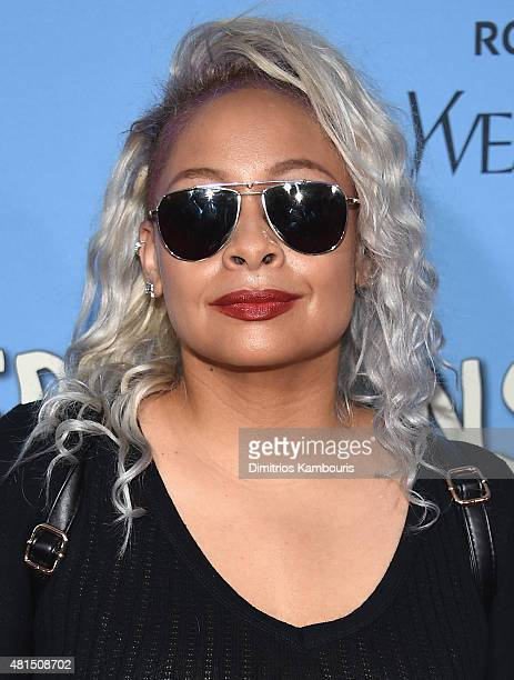 RavenSymone attends the 'Paper Towns' New York Premiere at AMC Loews Lincoln Square on July 21 2015 in New York City
