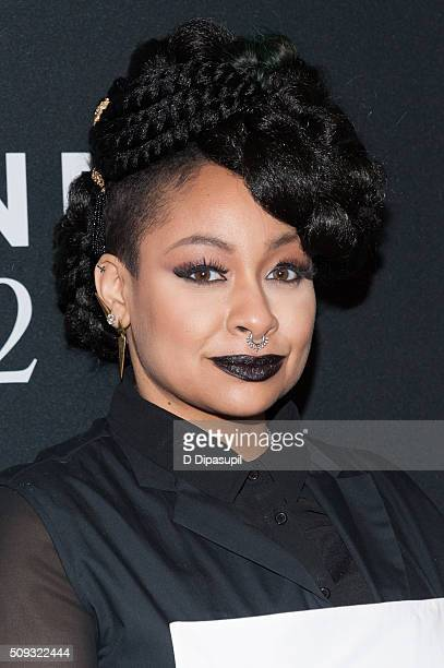 RavenSymone attends the 'Zoolander 2' world premiere at Alice Tully Hall on February 9 2016 in New York City