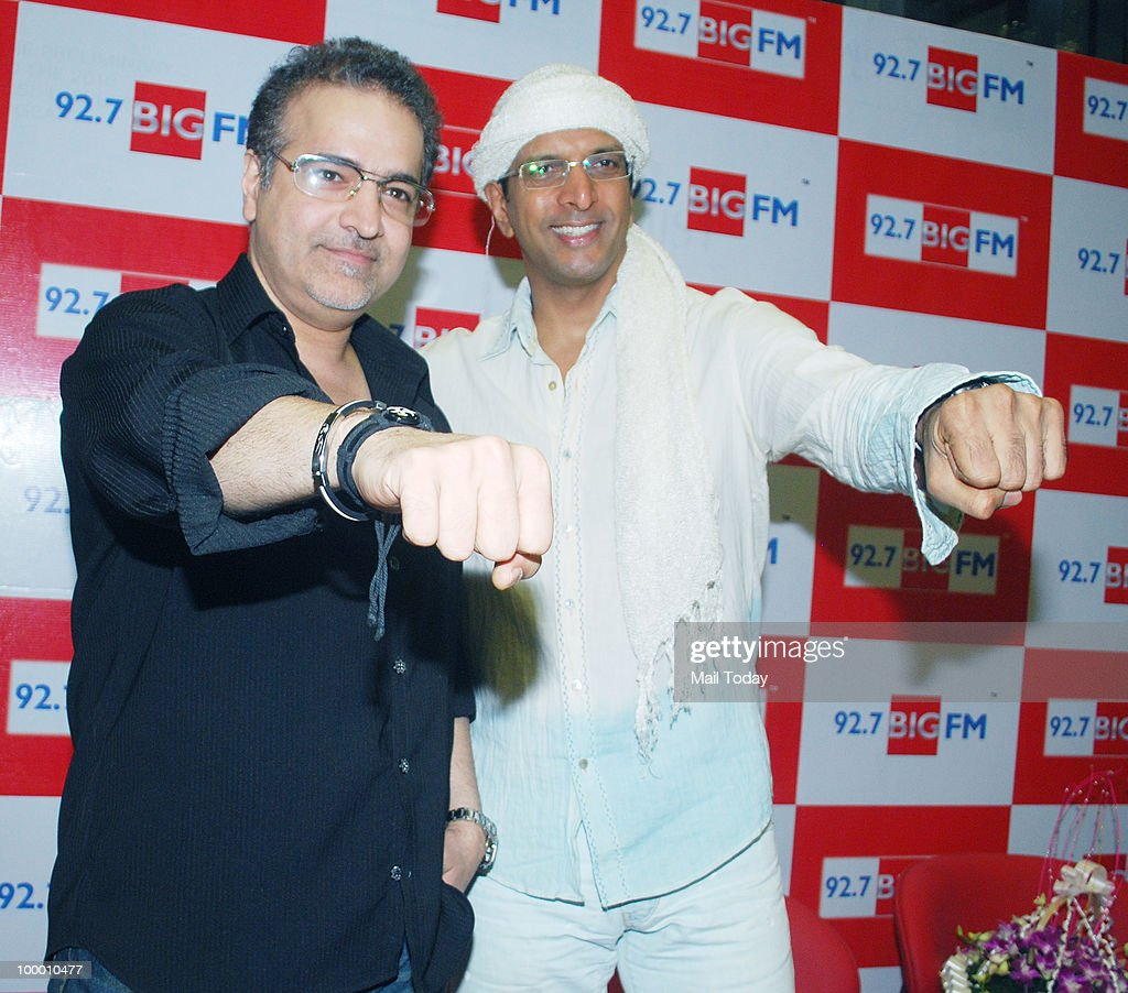 Ravi Behl and Javed Jaffery during a promotional event for Boogie Woogie in Mumbai on May 18, 2010.