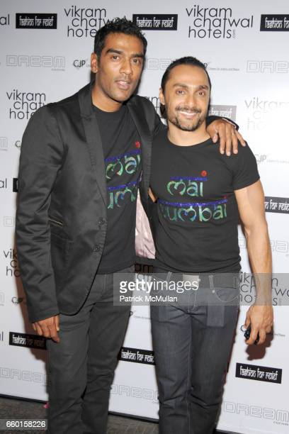 Ravi Krishnan and Rahul Bose attend VIKRAM CHATWAL HOTELS Presents MAI MUMBAI with Fashion For Relief at LAKME FASHION WEEK After Party at China...