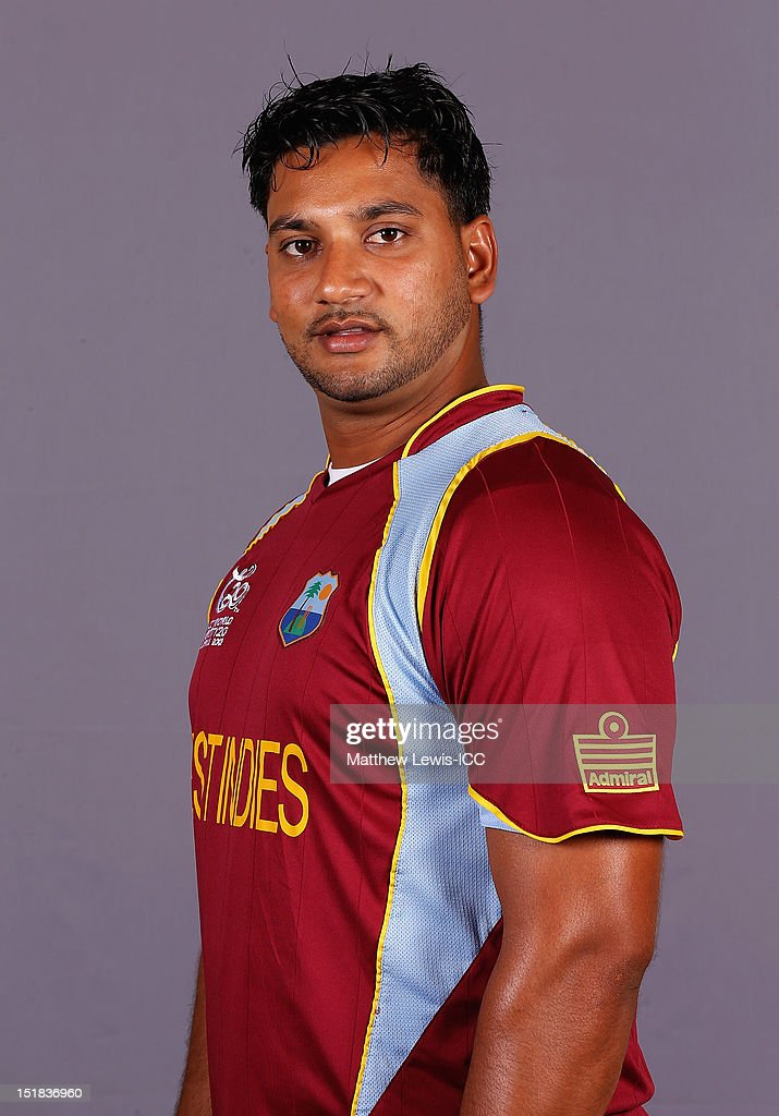 West Indies Portrait Session - ICC World Twenty20 2012