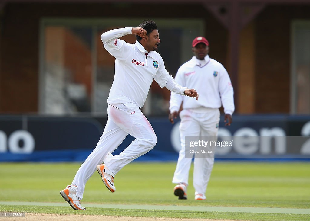 England Lions v West Indies - Day Two