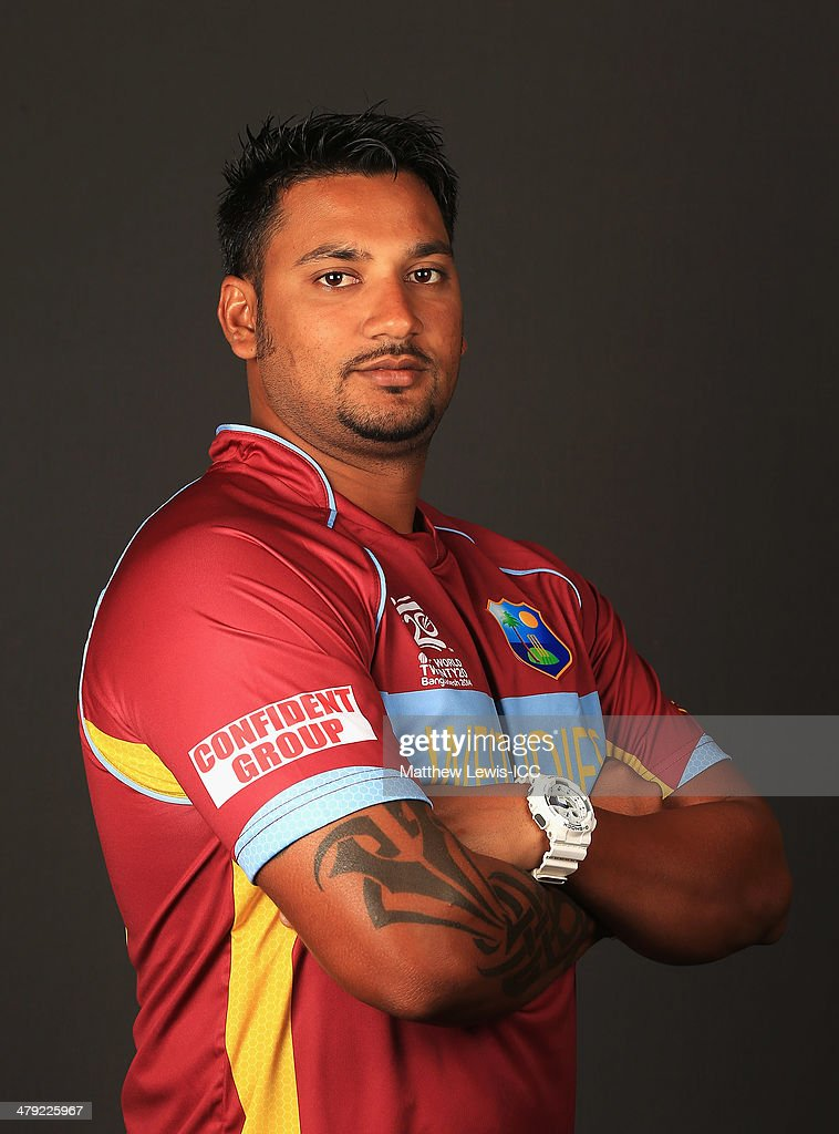 West Indies Headshots - 2015 Cricket World Cup Preview Set