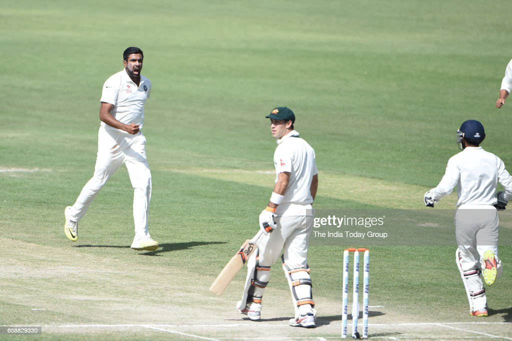 India vs Australia Dharamsala Test 2017 : News Photo