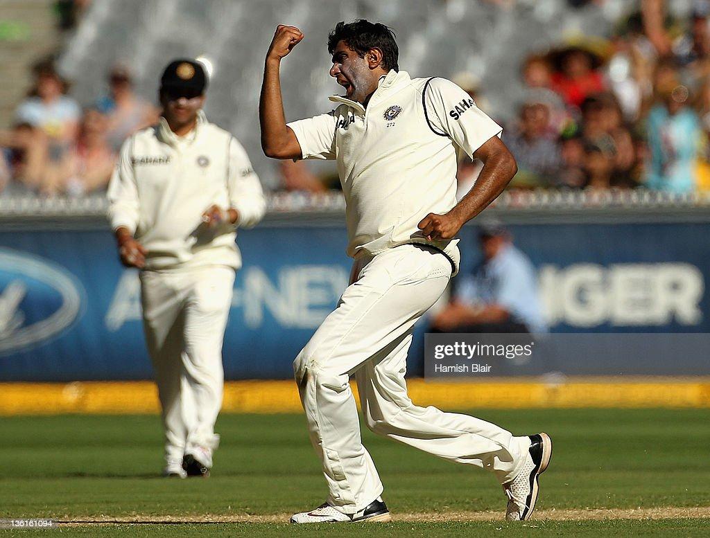 Australia v India - First Test: Day 3 : News Photo