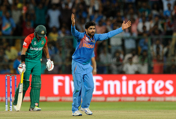 ICC World Twenty20 India 2016: India v Bangladesh : News Photo