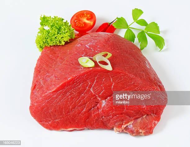 Raw beef shoulder