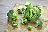 Broccoli is a vegetable as sources of organic  vitamin and mineral.