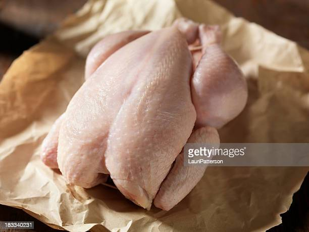 Raw Chicken in Butchers Paper