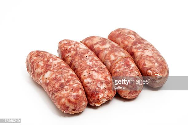 raw italian sausages