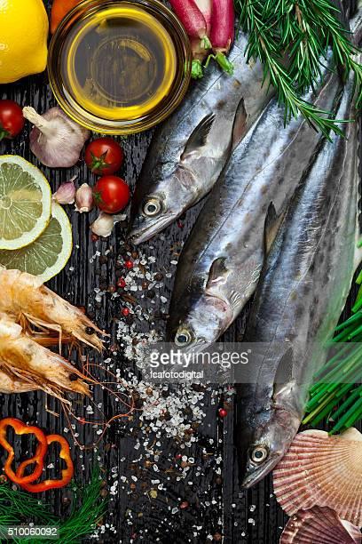 Raw Makrele