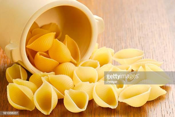 Pâtes aux fruits de mer (Conchiglie