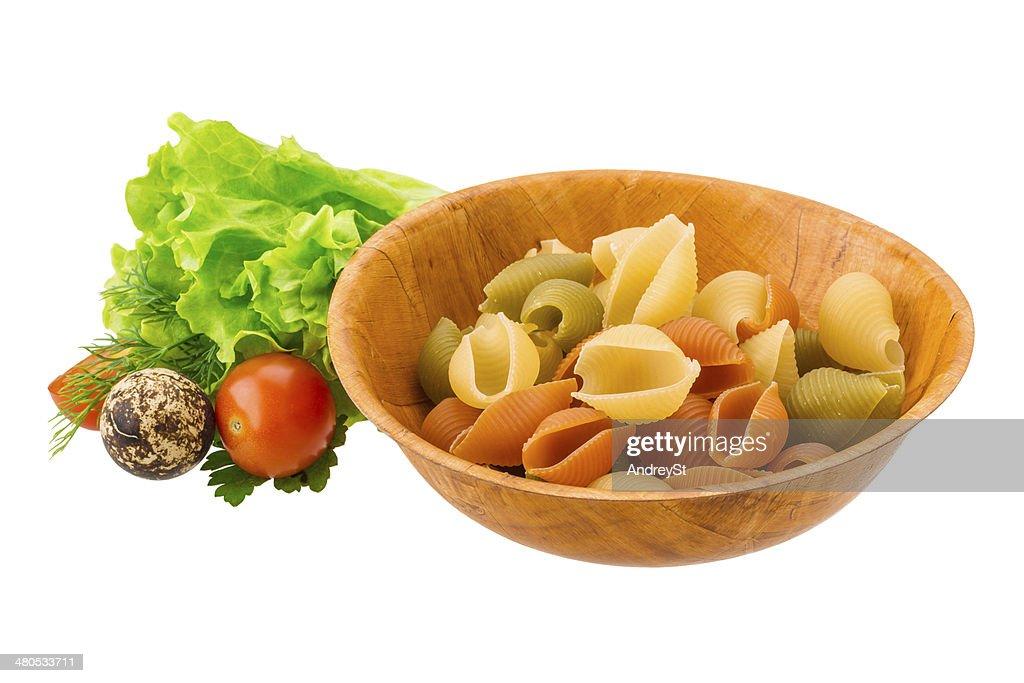 Raw pasta : Stock-Foto