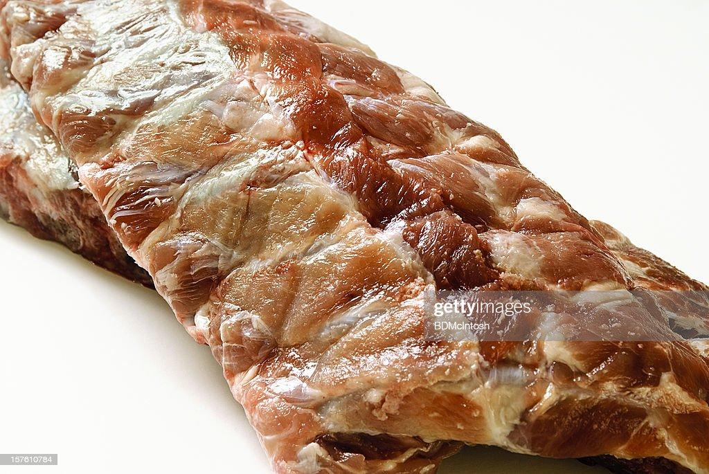 Raw Pork Ribs : Stock Photo